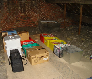Stuff in the loft, with space to spare!