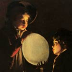 Joseph Wright of Derby - Light paintings