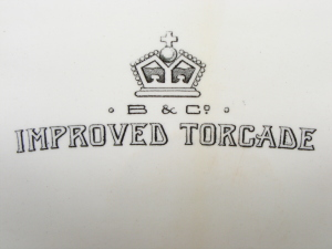 """Improved Torcade"" - the friendly writing that greets you when you look down our toilet."